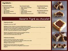 SAVARIN TIGRE AU CHOCOLAT - L'Atelier des Douceurs de Mayrig
