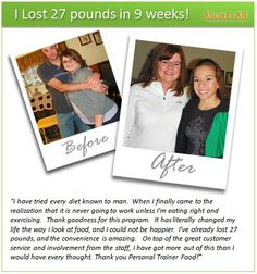 Personal Trainer Food: Success Stories
