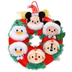 Previews of the new Tsum Tsum Christmas Wreath Set being Released ...