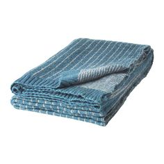 IKEA - TULKÖRT, Throw, Yarn-dyed; the colours are retained wash after wash.You can easily vary the look because the two sides have different designs.