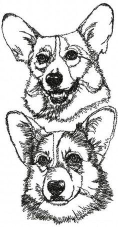 Advanced Embroidery Designs - Corgi Set Pet Accessories, Dog Toys, Cat Toys, Pet Tricks