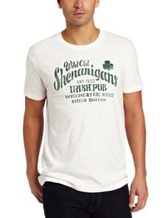 Amazon.com: Lucky Brand Mens Wild Old Shenanigans Graphic Tee: Clothing