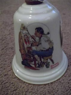 NORMAN ROCKWELL Gorham Bell- TAVERN SIGN PAINTER picclick.com