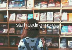 Not necessarily because I want to, but because I should/have to read more. -.-
