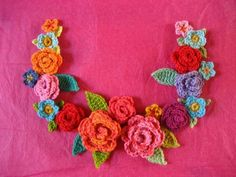 tutorial for triple leaves and mini flowers
