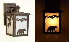 Rustic Lantern Style Outdoor Wall Sconce. Fully Customizable!