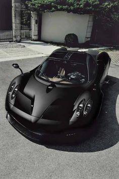 Pagani Huayra - 'Lord have Mercy' #paganihuarya Pagani Car, Pagani Zonda R, Koenigsegg, Matte Cars, Matte Black Cars, Bugatti, Audi Lamborghini, Ferrari 488, Car Photography