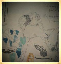 Dibujo de Isabel Vila para el fanzine Le Piragüiste núm.1