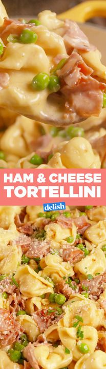 If you don't make this Ham & Cheese Tortellini, you're missing out. Get the recipe from Delish.com.