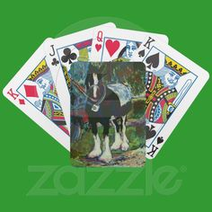Pack of Playing Cards for Horse Lover, Shire Horse   Zazzle.co.uk