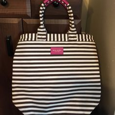 Henri Bendel tote bag Gorgeous striped tote bag, never used 100% authentic. henri bendel Bags Totes