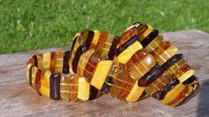 12 grams Genuine Natural Baltic Amber Mix Bracelet No Enhancement