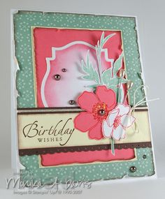 Stampin Up Fabulous Florets