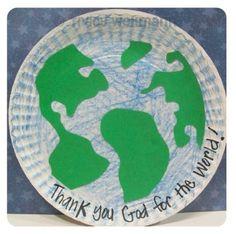 Mrs. Wellmann's Sunday School Class: God Made the Whole World Project