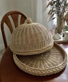 Wicker Baskets, Chair, Furniture, Home Decor, Decoration Home, Room Decor, Home Furnishings, Stool, Home Interior Design