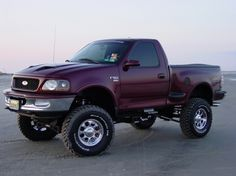 Ford F150 1997 - thrill, rally, 4x4, offroad