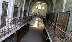 Abandoned Romanian prison, used for political prisoners, via NY Times