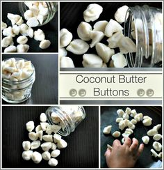 Coconut Butter Buttons