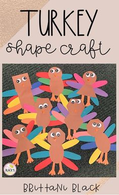 Are you looking for ideen, lektionen or crafts as you teach thanksgiving? Your students will love this easy to complete turkey cut-and-paste-craft. Students will have.