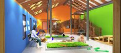 indoor dog play area ideas - Google Search