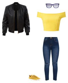 """""""Untitled #404"""" by selise-miles on Polyvore featuring Tom Ford, Miss Selfridge, adidas Originals and LE3NO"""