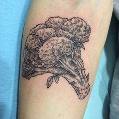 Broccoli Floret - Jude Le Tronik - Damask Tattoo - Seattle, WA - Imgur
