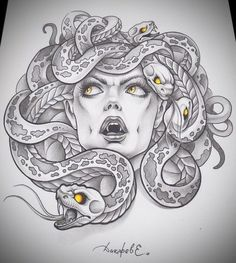 tattoo tatoo medusa tattoo neat tattoo tattoo s drawings tattoo motive . Medusa Kunst, Medusa Art, Medusa Drawing, Medusa Head, Tattoo Design Drawings, Tattoo Sleeve Designs, Art Drawings, Medusa Tattoo Design, Drawing Tattoos
