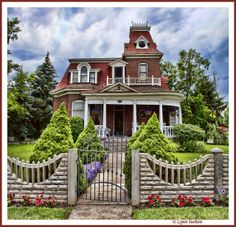 Architectural Royalty by walla2chick, via Flickr ~ historic home in Union, Oregon