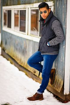Winter Layers | Levitate Style | Clarks Desert Boots