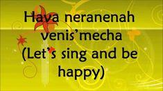 Hava Nagila - Abraham Zevi Idelsohn - Lyrics and Translation