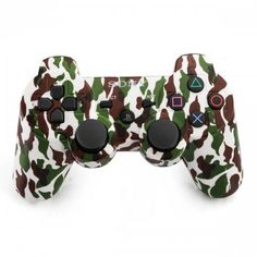 Refurbished Dual Shock 3 Wireless Controller for PlayStation 3 (Urban camouflage)