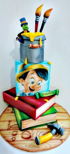 Pinocho Airbrush Cake #coupon code nicesup123 gets 25% off at  Provestra.com