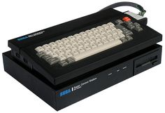 SEGA SC-3000H computer with the SF-7000 expansion unit.