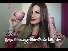 Testei: Linha Monange Hidratação Intensiva | Ingra Moura - YouTube