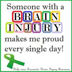 Learn more about traumatic brain injury. Learn how to cope with traumatic brain injury. Find out how a traumatic brain injury attorney can help you. Brain Injury Awareness, Awareness Tattoo, Cancer Awareness, Tramatic Brain Injury, Subdural Hematoma, Cognitive Problems, I Love Someone, Love My Husband, Amazing Husband