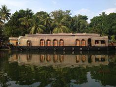 houseboat trip in Kerala, India House Boat Kerala, Wonderful Places, Beautiful Places, Kerala Backwaters, Beachfront House, Visit India, India Travel, India Trip, Kerala India