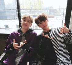 Stray Kids - Chan e HyunJin