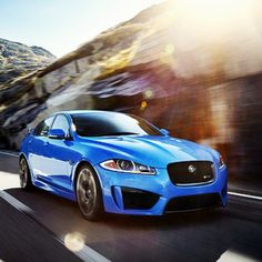 Beautiful Jaguar XFR-S