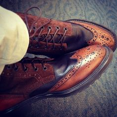 Fancy - Brogue Boots