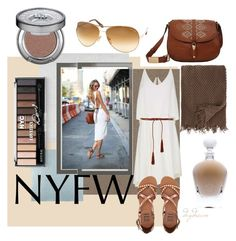 NYFW by sarahdaydream on Polyvore featuring polyvore, fashion, style, TIBI, Billabong, Foley + Corinna, Tom Ford, Express, EB Florals, York Wallcoverings, Barneys New York, Urban Decay and clothing