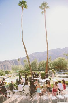 Photography: Laura Goldenberger - www.lauragoldenberger.com  Read More: http://www.stylemepretty.com/california-weddings/2014/05/20/elegant-palm-springs-wedding/