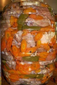 4 Piezas de Manitas de cerdo cortadas en 4 cada una, hervidas con ajo, cebolla y sal, bien escurridas 300 gramos de Pa...