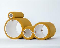 Tube Chair -  Joe Colombo, 1969-70.