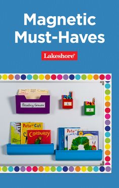 Organize your most important materials on any magnetic surface at school or at home with these magnetic must-haves. Grab yours today—on sale in stores and online! #backtoschool #classroomorganization The New School, New School Year, Back To School Essentials, Reading Groups, Classroom Organization, Must Haves, Organize, Magnets, Surface
