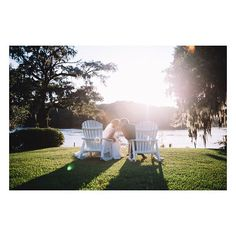 When the sun sets at a wedding it's a bittersweet feeling.  Its excitement for the days ahead as a married couple but also the ending to one of the happiest days of your life. ... @wachesawplantationevents @paperdollshair @wilsonsonwashingtonsc  @whitemagnoliabridal @augustajonesbridal @bellabridesmaids @jennyyoonyc @gagesonaugusta @soswoozies  @eastcoastentertainment @franciegblack