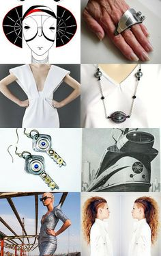 """""""The futute is coming"""" by Margarita Gavrichkova on Etsy--Pinned with TreasuryPin.com"""
