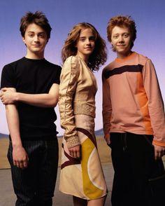 Daniel Radcliffe,Emma Watson et Rupert Grint !