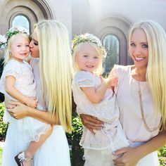 Mommy (@savv_soutas) and Everleigh at our beautiful cousins wedding! Bridesmaid&flower girl Words can't describe how much joy this little peanut brings to my life everyday! Follow my personal if you want: @savv_soutas