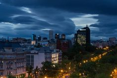 Noche de nubes
