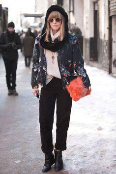 Fashion ›Street Chic› Street Chic: New York Fashion Week Fall 2014